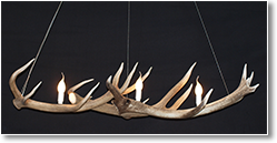 Short Long Antler Chandelier - Hermes